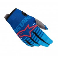 2020 Alpinestars RADAR Kids Motocross Gloves Blue Aqua