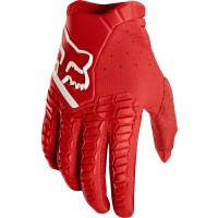 Fox Pawtector Motocross Gloves RED