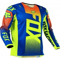 2021 Fox Peewee Toddler 180 Motocross Jersey OKTIV BLUE