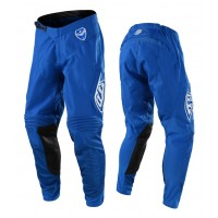 Troy Lee Designs Solo TLD MX SE Motocross Pants Blue