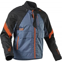 2021 Fox Legion Enduro Offroad Jacket Blue Steel