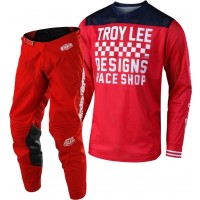 Troy Lee Designs TLD 18.1 GP AIR RACESHOP Motocross Gear Red Red