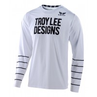 2020 Troy Lee Designs TLD GP AIR PINSTRIPE Motocross Jersey White