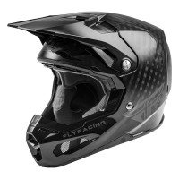 Fly Racing Formula Carbon Youth Kids Motocross Helmet Black