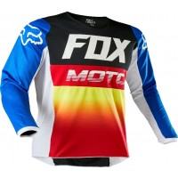 2020 Fox Peewee Toddler 180 Motocross Jersey FYCE BLUE RED AGE 4 ONLY