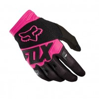 Fox Dirtpaw RACE Motocross Gloves BLACK PINK