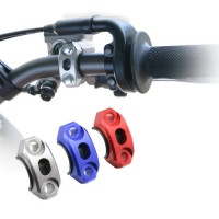 Zeta Anodised Motocross Brake & Clutch Rotator Clamp