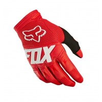 Fox Dirtpaw Kids Youth Motocross Gloves RED
