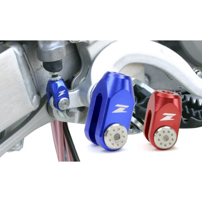Zeta Anodised Motocross Bike Rear Brake Clevis