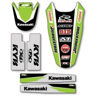 Accessory Trim Kit for Kawasaki Motocross Bikes