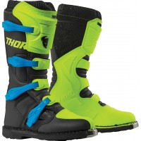 Thor Blitz XP Motocross Boots Flo Yellow Black
