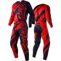 Troy Lee Designs Shadow Red Navy TLD SE Air Motocross Gear