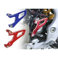 Zeta Anodised Front Sprocket Guard Drive Cover for Motocross Bikes