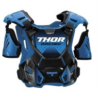 2020 Thor Guardian Adult Motocross Chest Protector Body Armour with Arm Guards BLUE