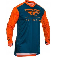 2020 Fly Racing Lite Hydrogen Motocross Jersey ORANGE NAVY