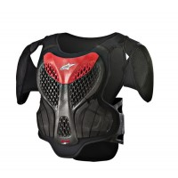 Alpinestars A5 Youth Body Armour ACU Approved EN1621 Black Red