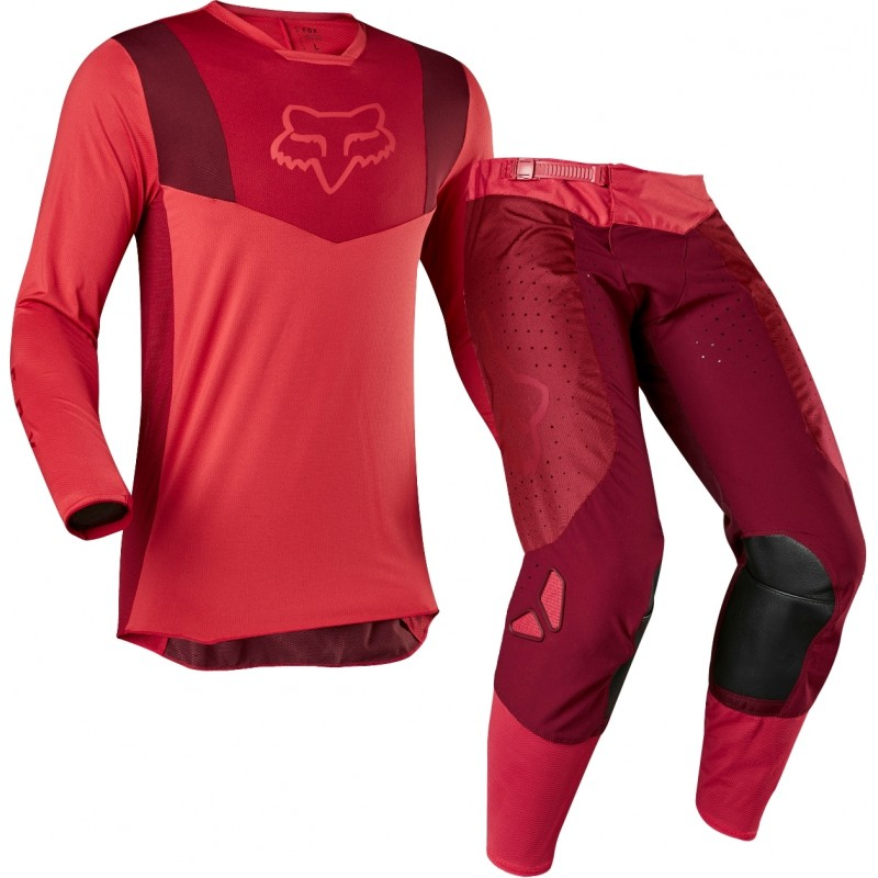 2020 Fox AIRLINE Motocross Gear RED 28 LARGE ONLY