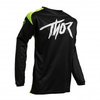 Thor Sector Link Motocross Jersey BLACK ACID LARGE ONLY