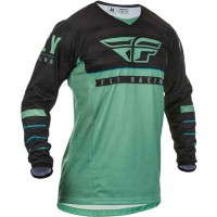 2020 Fly Racing Kinetic K120 Youth Kids Motocross Jersey Sage Green Black