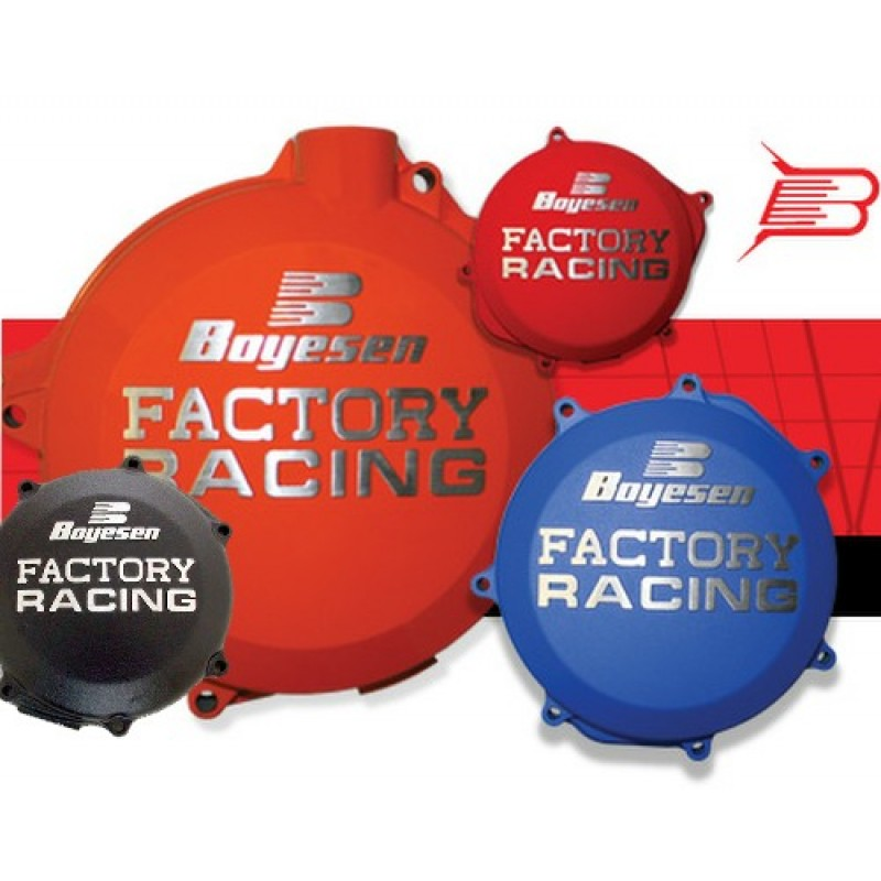 Boyesen Racing Clutch Covers for Yamaha YZ YZF Motocross Bikes