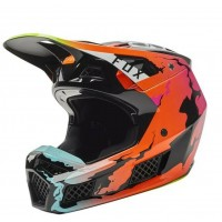 2021 Fox V3 PYRE Limited Edition Motocross Helmet