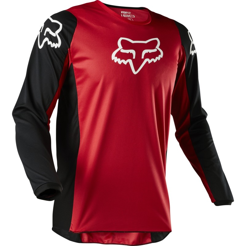2020 Fox 180 Motocross Jersey PRIX FLAME RED