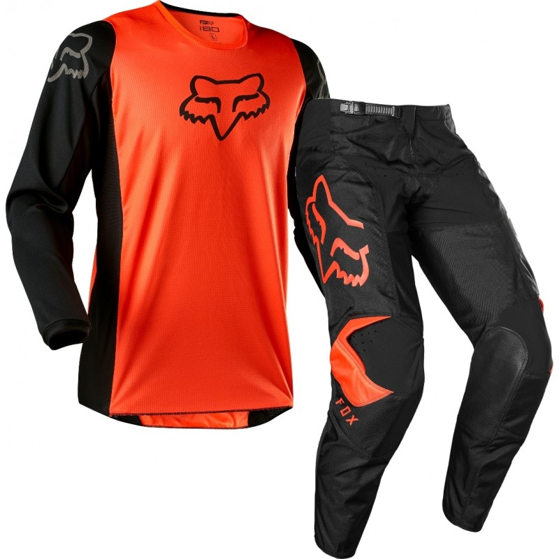 2020 Fox 180 Youth Kids Motocross Gear PRIX FLO ORANGE