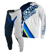 2020 Troy Lee Designs TLD MX SE Pro Air Motocross Gear TILT NAVY WHITE