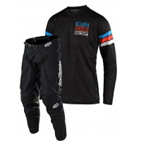 2020 Troy Lee Designs TLD GP AIR SADDLEBACK Motocross Gear Black Cyan Black