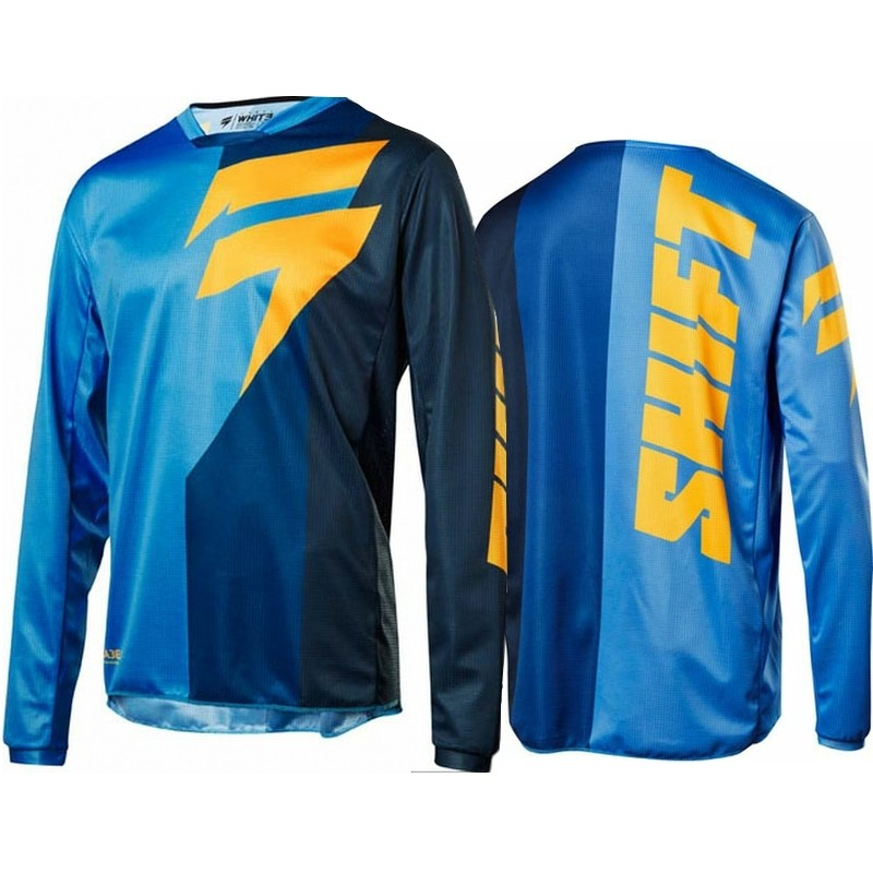 2018 Shift WHIT3 Label Tarmac Motocross Jersey BLUE