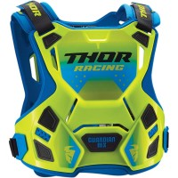 NEW Thor Guardian Adult Motocross Chest Protector Body Armour Flo Green