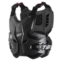 Leatt 3.5 Chest Protector Body Armour Adult CE Approved EN1621 BLACK
