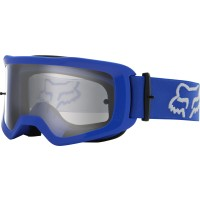 2021 Fox Main 2.0 STRAY Motocross Goggles BLUE with Clear Lens
