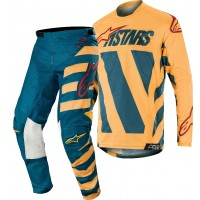 2019 Alpinestars Racer BRAAP Petrol Tan Maroon Motocross Gear 28 or 32 ONLY