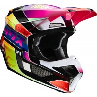 2020 Fox V1 YORR Youth Kids Motocross Helmet MULTI