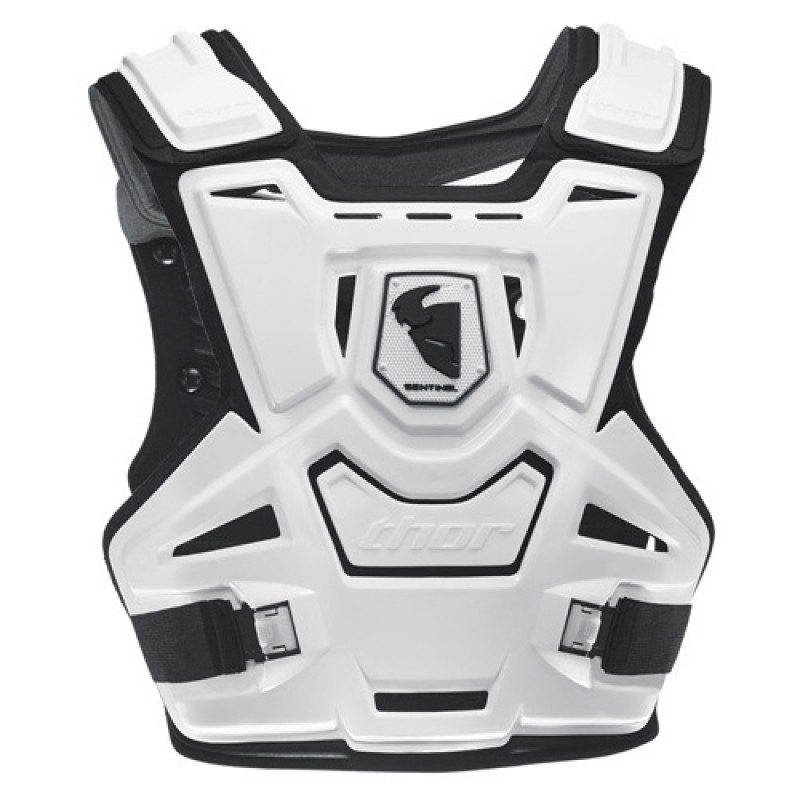 Thor MX Sentinel Motocross Body Armour Adult White