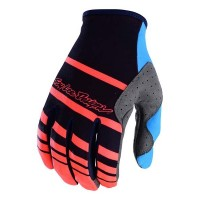 Troy Lee Design TLD SE Motocross Glove Streamline Navy Orange