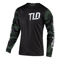 2020 Troy Lee Designs TLD GP CAMO Motocross Jersey Green Black SMALL ONLY