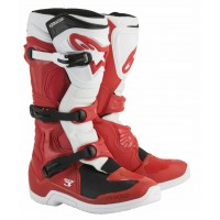 Alpinestars Tech 3 Motocross Boots White Red