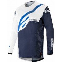 2019 Alpinestars Techstar Factory White Navy Motocross Jersey XL ONLY