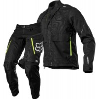2021 Fox Legion Enduro Offroad Jacket & Pants Combo Black MEDIUM ONLY
