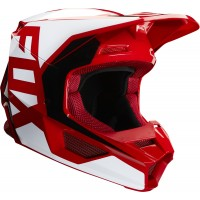 2020 Fox V1 PRIX Motocross Helmet FLAME RED