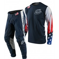 Troy Lee Designs TLD GP LIBERTY Motocross Gear Navy White 32 ONLY