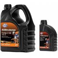 Silkolene 4 Stroke Engine Oil Comp 4 or Pro 4 10w/40