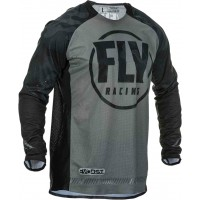 2020 Fly Racing Evolution Motocross Jersey Black Grey Camo