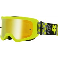 Fox Main 2.0 Spark Lens Kids Youth Motocross Goggles ILLMATIK Flo Yellow