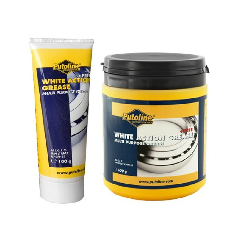 Putoline White Action Grease and Racing Grease