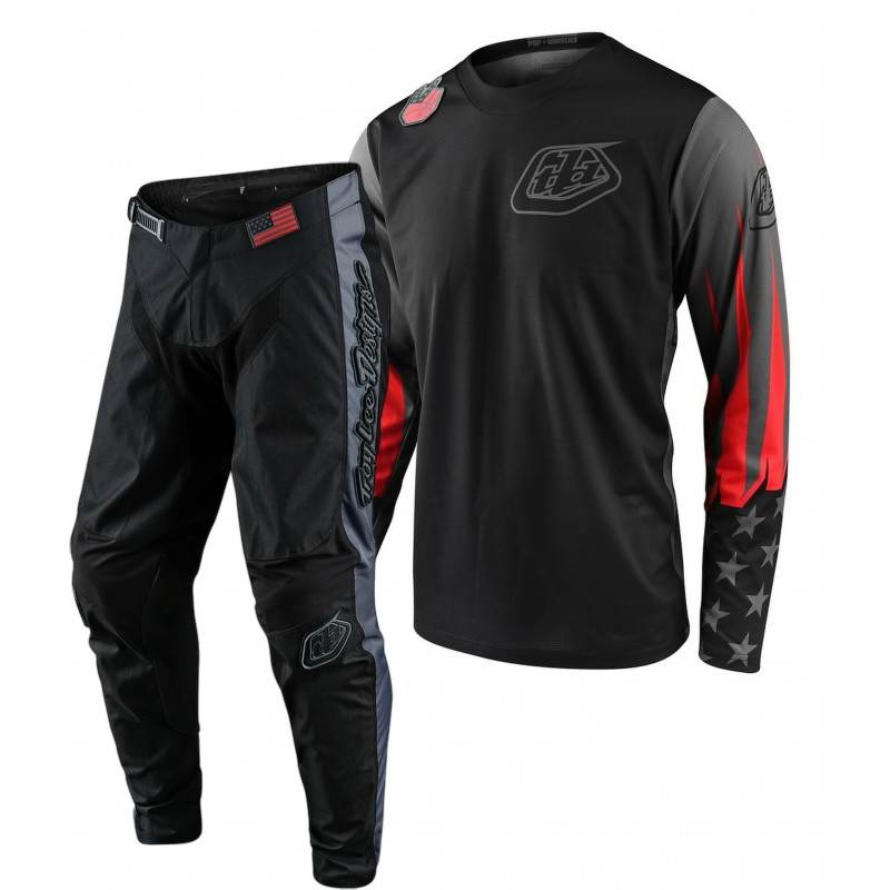 Troy Lee Designs TLD GP LIBERTY Motocross Gear Red Grey 28 ONLY