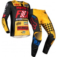 2019 Fox CZAR 180 Kids Youth Motocross Gear BLACK YELLOW 26 ONLY