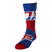 Fox Youth Kids AFTERBURN Motocross Socks BLUE
